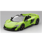 McLAREN 675LT SPIDER MANTIS GREEN TOP SPEED