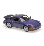 PORSCHE 911 TURBO 964 PURPLE METALLIC 1990