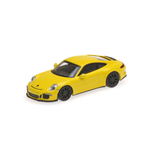 PORSCHE 911 R 2016 YELLOW WITH BLACK WHEELS