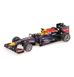 RED BULL RB9 SEBASTIAN VETTEL WINNER INDIAN GP WORLD CHAMPION F1 2013