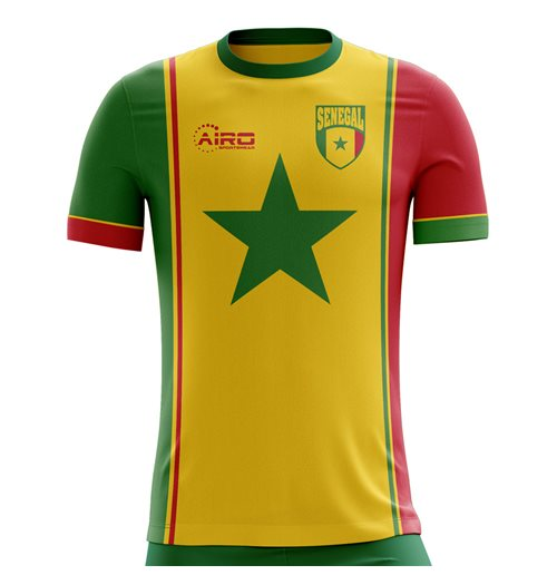 T-shirt Senegal Calcio 2018-2019 Third