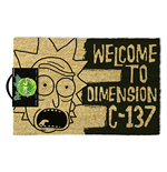 Zerbino Rick And Morty (Dimension C-137 Black)