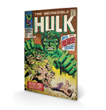 Hulk - Big Issue (Stampa Su Legno 59X40Cm)