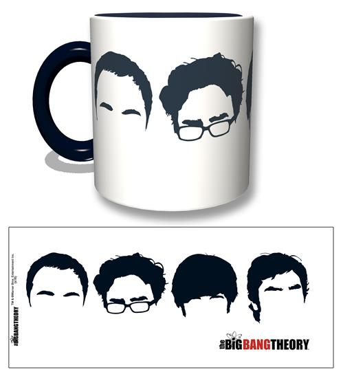 Tazza The Big Bang Theory Faces Black