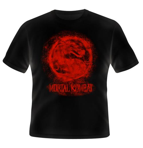 T-shirt Mortal Kombat Bloody Logo