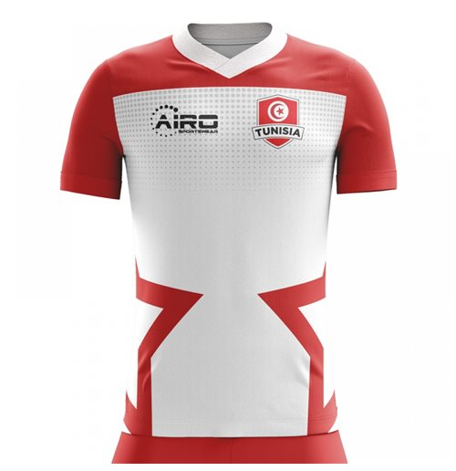 T-shirt Tunisia calcio 2018-2019 Home