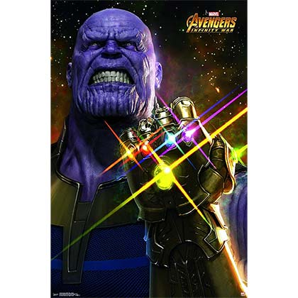Poster Agente Speciale - The Avengers Infinity War Thanos