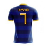T-shirt Svezia calcio 2018-2019 Away