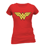 T-shirt Wonder Woman - Logo da donna