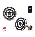 Captain America - Shield Stud (Orecchini)