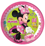 Minnie Happy Helpers - 8 Piatti 23Cm