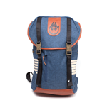 Star Wars - Han Solo Melange Polyester And Pu Elaborated Blue (Zaino)
