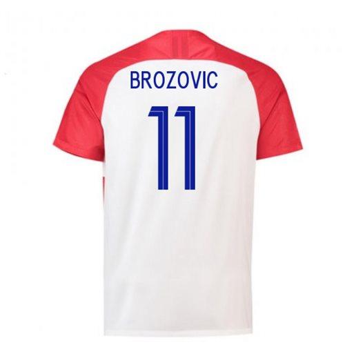 Maglia 2018/19 Croazia calcio 2018-2019 Home (Brozovic 11) da bambino