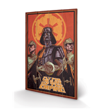 Star Wars - Fly For The Glory (Stampa Su Legno 59X40Cm)