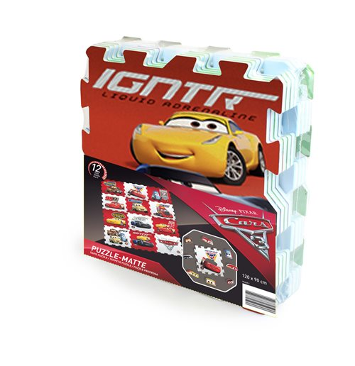 Puzzle DISNEY Cars 3 Team Floor con 12 pezzi