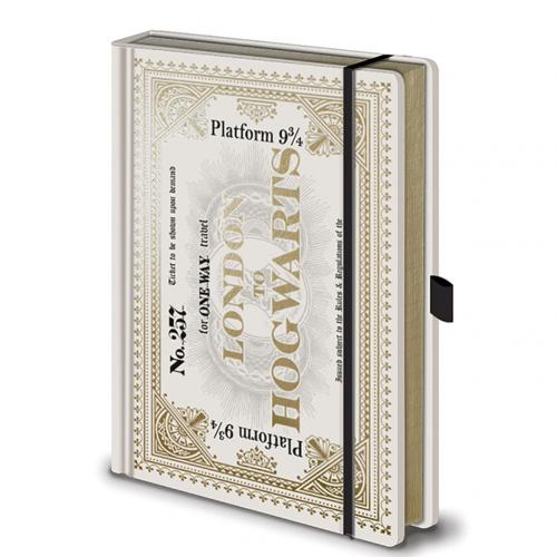 Agenda Harry Potter Ticket