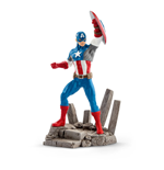 MARVEL COMICS Captain America Superhero Action Figure