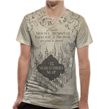 T-shirt Harry Potter - Marauders Map Sublimated