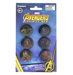 Marvel Avengers: Infinity War (Badge Pack Pin Lenticolari)