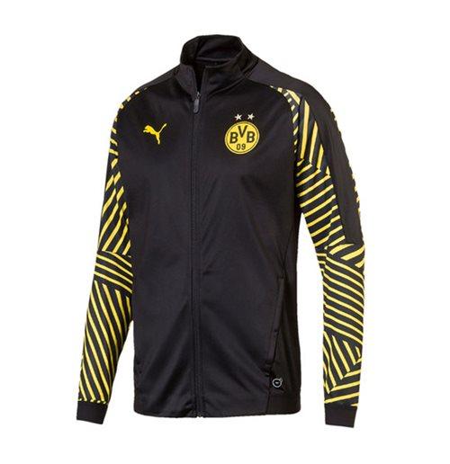 Felpa Borussia Dortmund 2018-2019 (Nero)