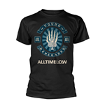 T-shirt All Time Low Skele Spade