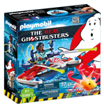 Playmobil 9387 - The Real Ghostbusters - Zeddemore Con Acqua Scooter