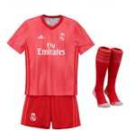 Kit da calcio per bambino Real Madrid 2018-2019 Third