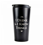 Game Of Thrones - I Drink And I Know Things (Tazza Da Viaggio)