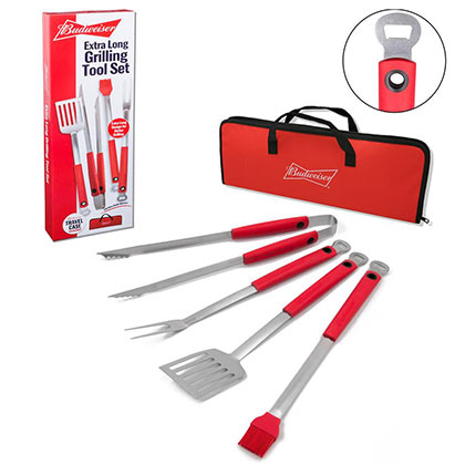 Set barbecue Budweiser