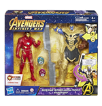 Avengers - Infinity War - Thanos 15 Cm Battle Set Con Gemme