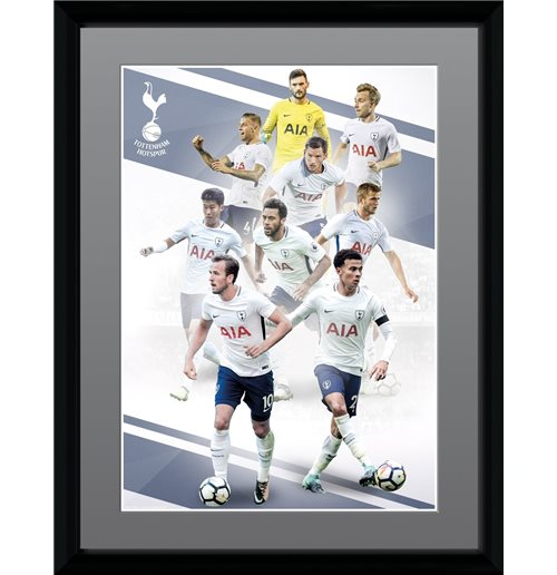 Tottenham Hotspur - Players 17/18 (Stampa In Cornice 30x40cm)