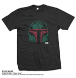 T-shirt Star Wars Boba Head