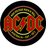Toppa AC/DC High Voltage Rock N Roll