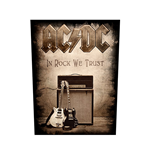 Patch posteriore AC / DC: in Rock We Trust