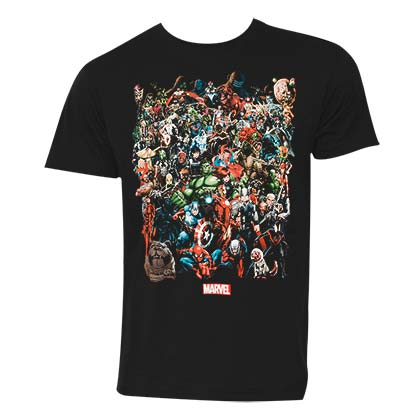T-shirt Marvel Superheroes da uomo