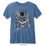 Guns N' Roses - Faded Skull Blue (T-SHIRT Unisex )