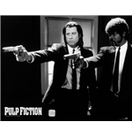 Pulp Fiction - B&W Guns (Mini Poster 40X50 Cm)