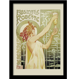Absinthe Robette (Stampa In Cornice 30X40 Cm)