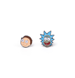 Orecchini Rick and Morty
