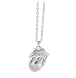 Collana The Rolling Stones - Design: Silver Tongue