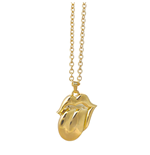 Collana The Rolling Stones - Design: Gold Tongue