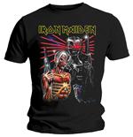 T-shirt Iron Maiden da uomo - Design: Terminate