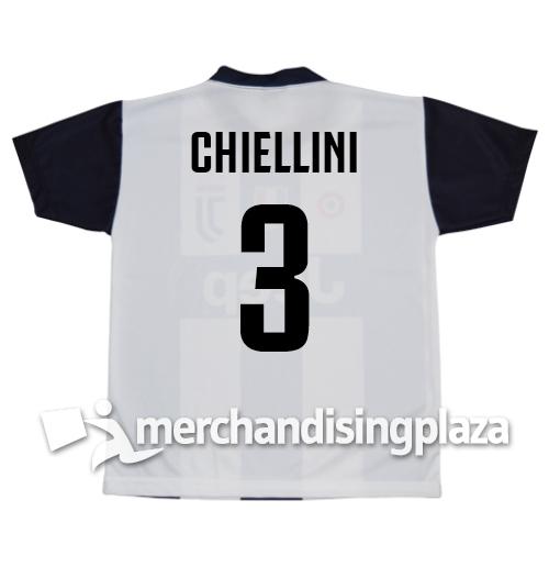 36d2c4b64591a6 Prima maglia Juventus ufficiale Chiellini 3 replica stagione 2018-19