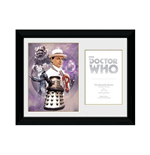 Doctor Who - 7th Doctor Sylvester Mccoy (Stampa In Cornice 30x40cm)