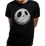 T-shirt Nightmare Before Christmas - Design: Jack Cracked Face