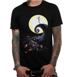 T-shirt Nightmare Before Christmas - Design: Cemetery