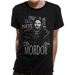 T-shirt Lord Of The Rings - Design: Walk Into Mordor