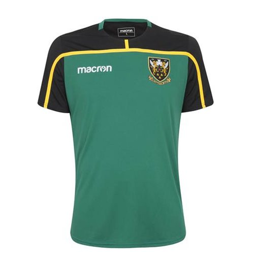 T-shirt Northampton Saints 2018-2019 (Verde)
