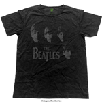 Beatles (THE) - Faces (vintage FINISH) (T-SHIRT Unisex )