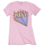 T-shirt Kiss da donna - Design: Stars